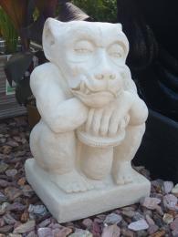 German Monkey set of 2 Creme SGR019
