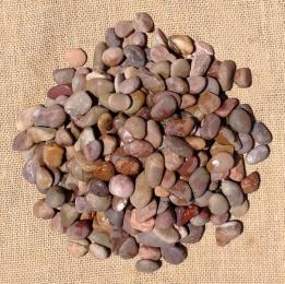 Red Polished Pebbles 8 - 12mm