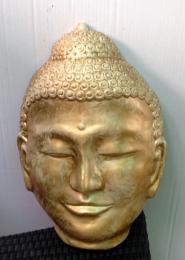 ST007IH Mask of Budha Gold wash
