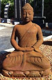 Sitting Bali Budha Rusty  FJR058