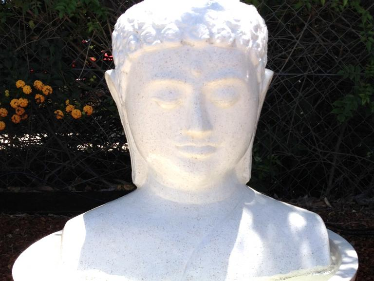 Terrazzo Buddha Head FIA008