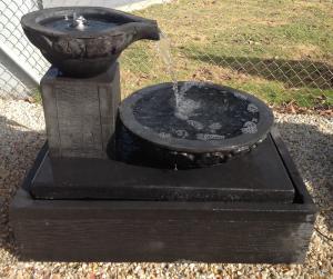 Avecca Water Feature Black