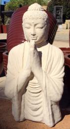 FJR065 CREME WORSHIP BUDHA