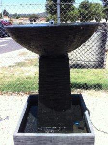 Large Bowlon Stand Black FIA054