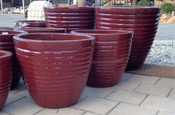 Beehive Glazed Pot TTP3031