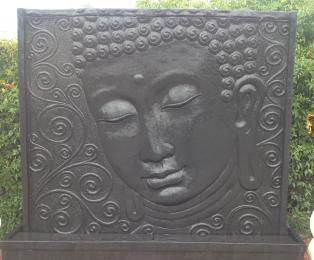 OSA001 Buddha Face Panel Black