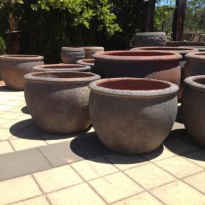 Oldstone Belly Pot OS033
