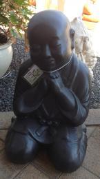 Praying Shaolin Black FIA115
