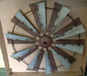 Rusty Windmill 09091