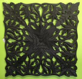 96017WAL Carved MDF Black