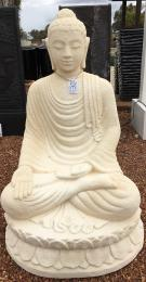 GS685 Creme Sitting Buddha