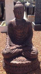 SGR152 Sitting Buddha Copper