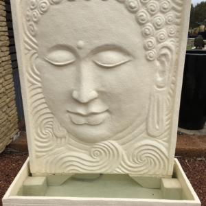 Peaceful Buddha Water Panel Creme WF202