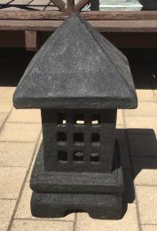 FJR15BC Square Lantern Black