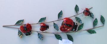 IR623 Ladybugs with leaves