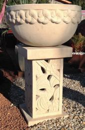 SGR150 Deep Frangipani Bird Bath