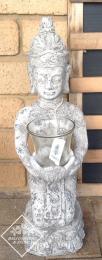CF175RN Kneeling Buddha Raw Natural