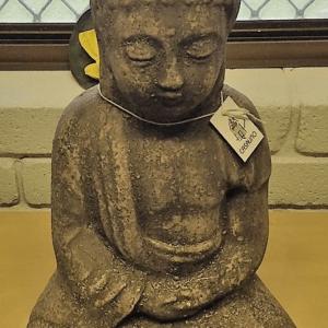 Buddha Statue Raw Black CF191RB