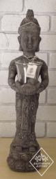 CF195RB Standing Buddha Raw Black